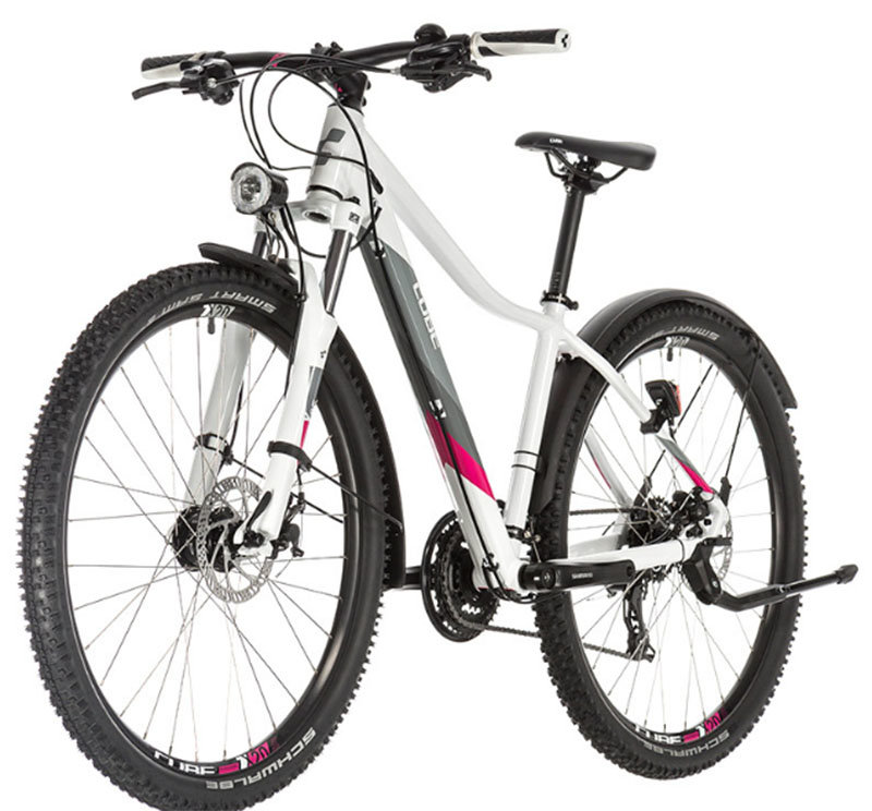 Велосипед Cube ACCESS WS ALLROAD 27.5 white-berry 2 ACCESS WS ALLROAD 27.5 white-berry