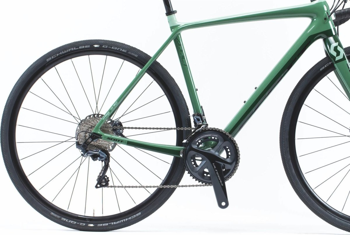 Велосипед Scott Addict Gravel 20 green/black 2 Addict Gravel 20 269903.022 269903.023