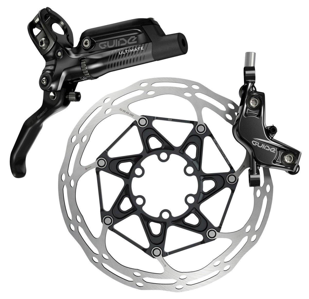 Ротор Sram CNTRLN 2P BLACK ST ROUNDED 140 мм 2 CNTRLN 2P 140MM BLACK ST ROUNDED 00.5018.037.016