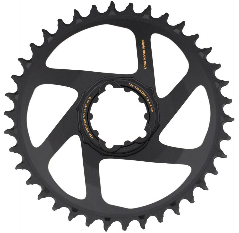 Звезда Sram CR X-SYNC SL Eagle 38T DM 3 OFFSET B GLD 2 CR X-SYNC SL Eagle 11.6218.040.010