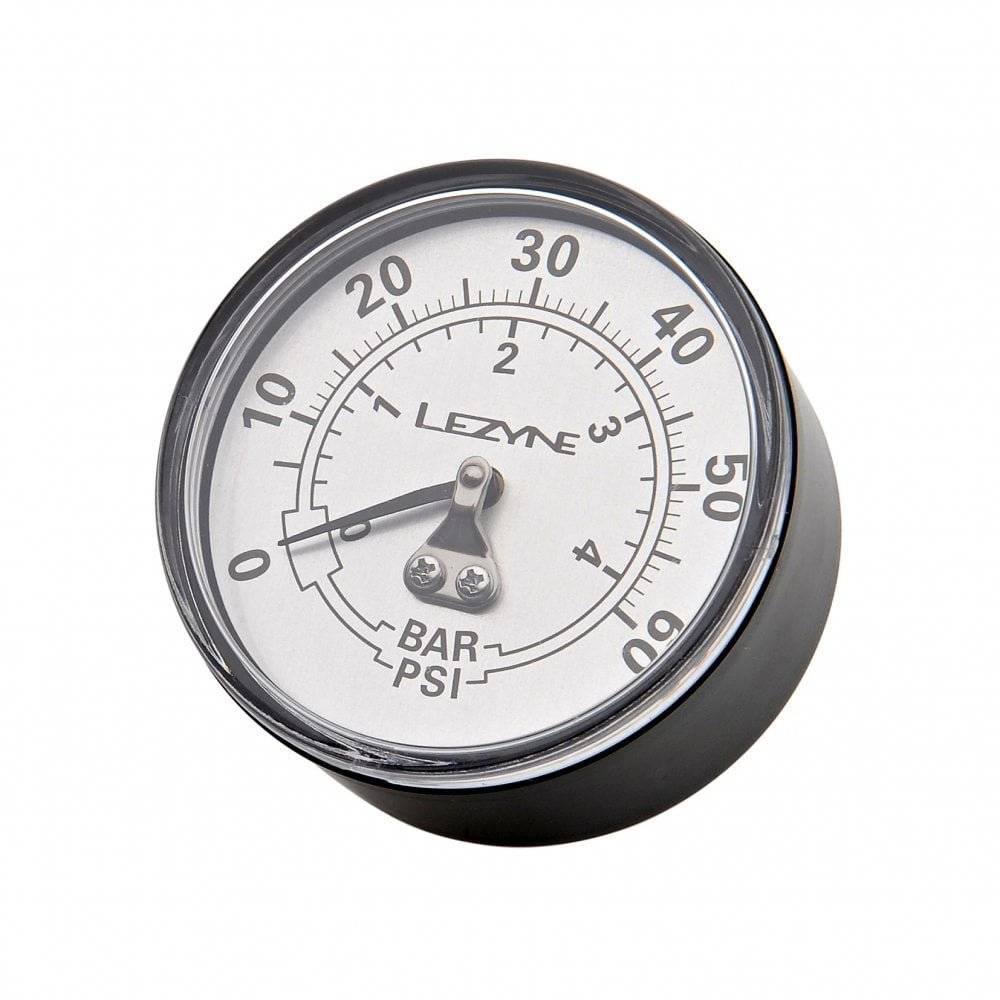 "Манометр Lezyne 60 PSI Gauge 2.5"" серебристый 2 Gauge 4712805 982509"