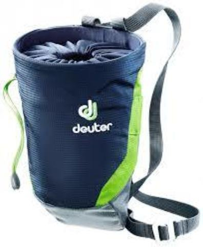 Мешочек для магнезии Deuter Gravity Chalk Bag II L navy-granite (3400) 2 Grav1ity Chalk Bag II 3391317 3400