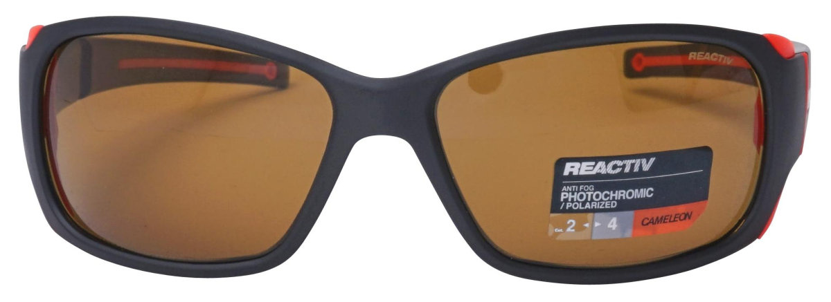 Очки Julbo Montebianco Black/orange neon Reactiv Cameleon Brown 2 Montebianco J4155022