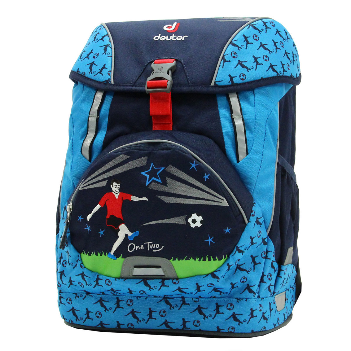 Набор сумок Deuter OneTwo Set - Sneaker Bag navy soccer 2 OneTwo Set - Hopper 3880017 3045 (SET)