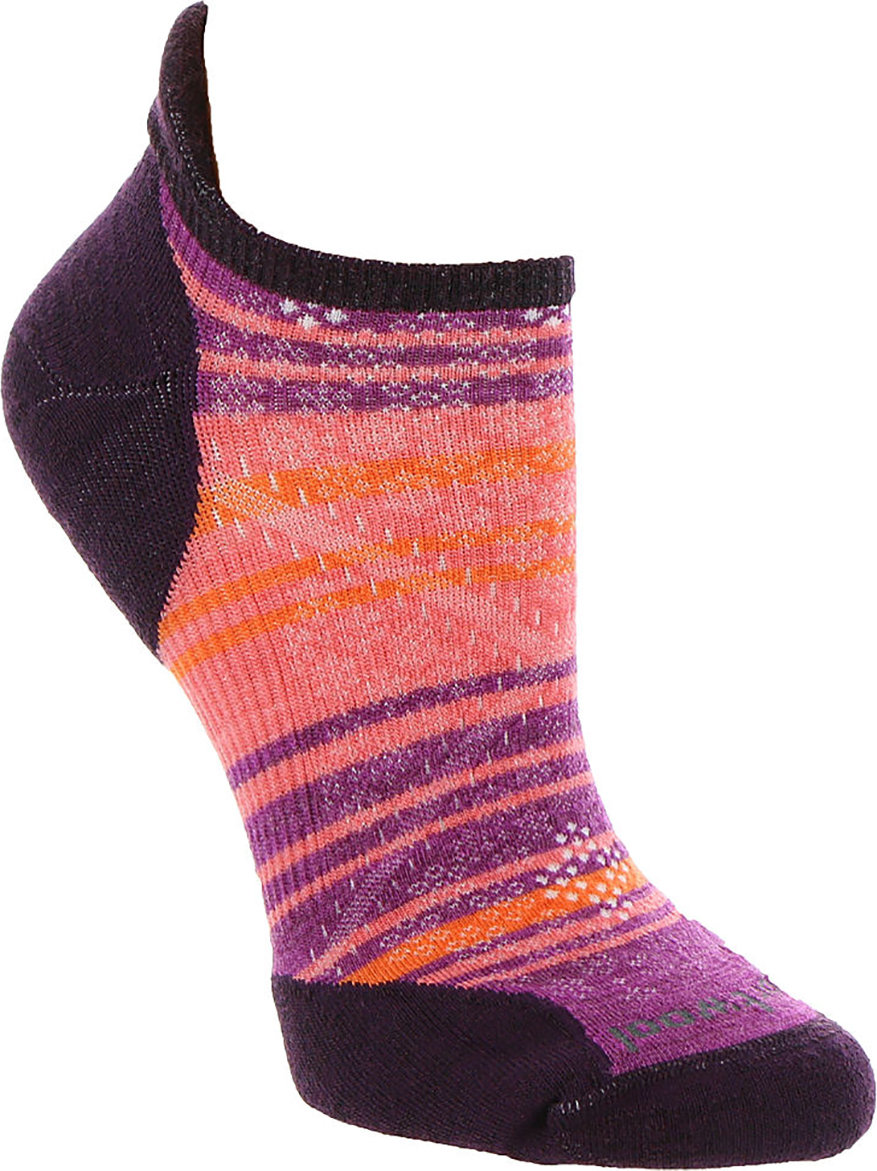 Носки женские Smartwool PhD Run Light Elite Striped Micro (Capri) 2 PhD Run Light Elite Striped Micro SW 00772.810-M SW 00772.810-S