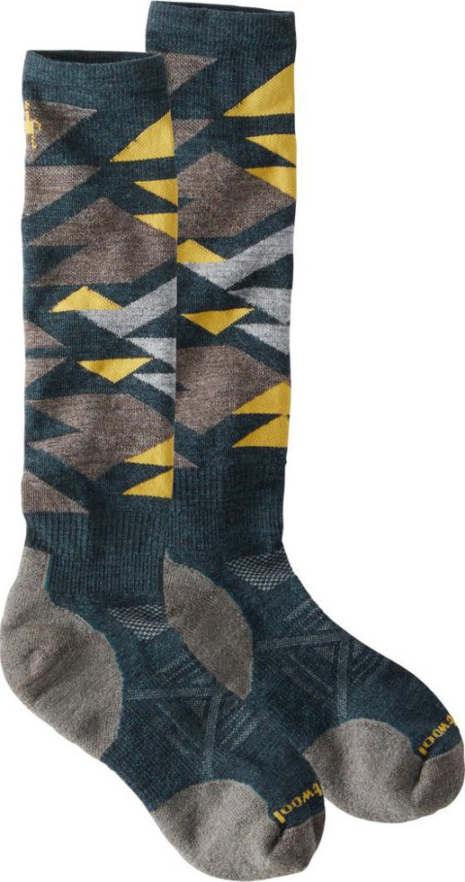 Носки Smartwool PhD Ski Light Pattern (Graphite) 2 PhD Ski Light Pattern SW 15035.018-L SW 15035.018-M