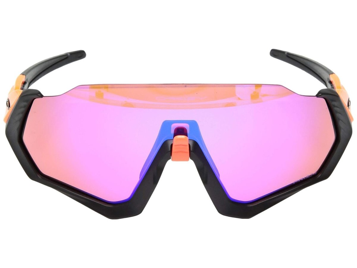 Очки Oakley Flight Jacket Neon Oran/Prizm Trail 2 RADAR EV PATCH RetinaBurn-PrizmRoad