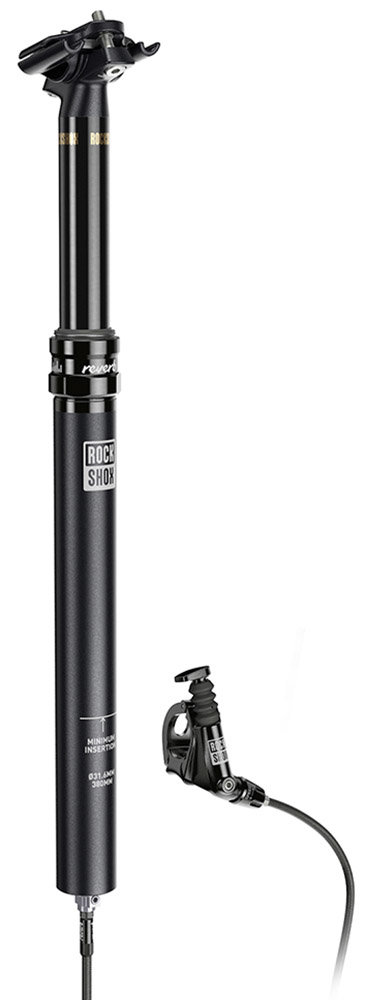 Подседельный штырь Rock Shox Reverb Stealth 30.9 125 390 2000mm Black B1 2 Reverb Stealth 00.6818.019.013