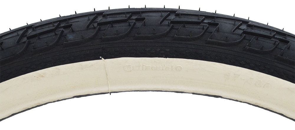 "Покрышка Continental Ride Tour, 26""x1.75, 47-559, Wire, ExtraPuncture Belt черно-белая 2 Ride Tour"