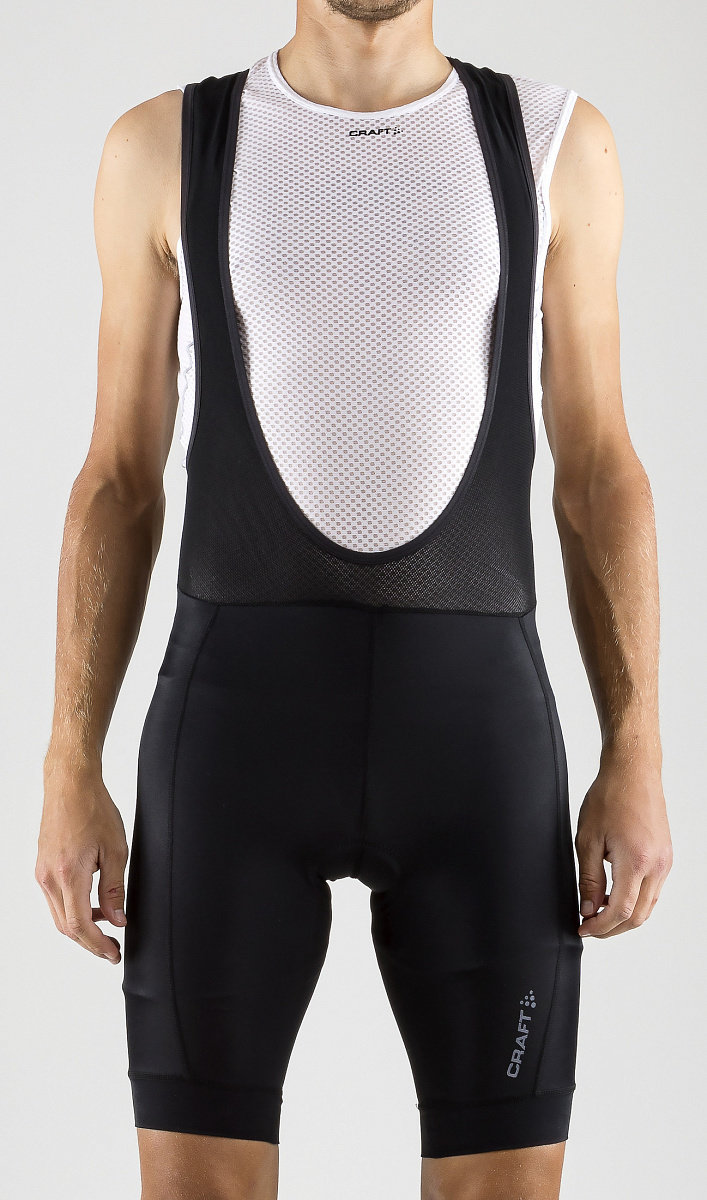 Велотрусы Craft Rise Bib Shorts black 2 Rise Bib Shorts