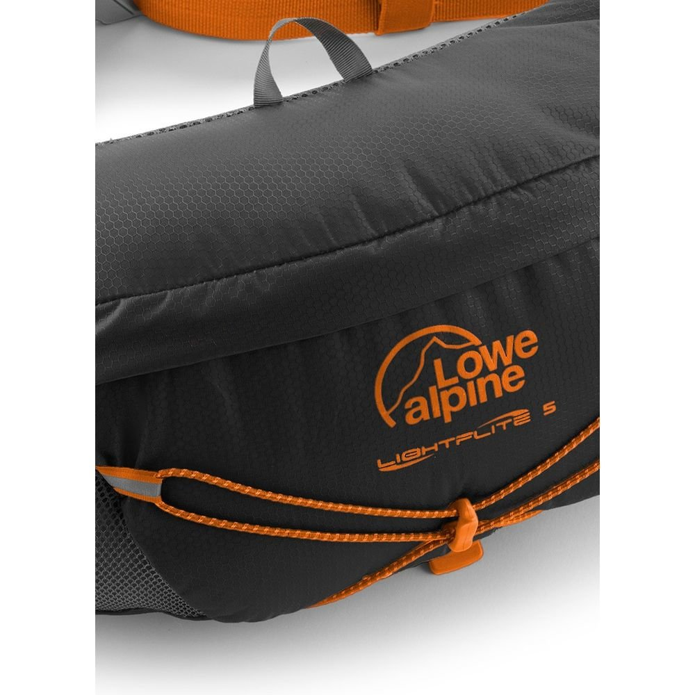 Сумка Lowe Alpine Lightflite 5 на пояс Anthracite/Pumpkin 2 С1умка Lowe Alpine Lightflite 5 на пояс Anthracite/Pumpkin LA FAD-36-AN-05