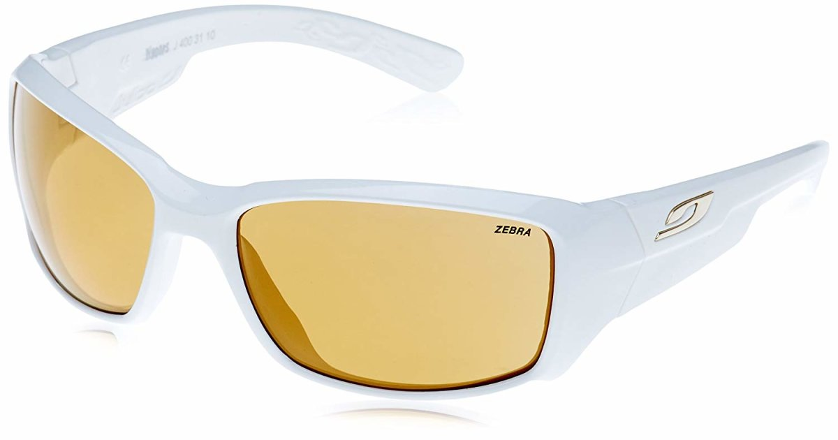 Очки Julbo Whoops Shiny white Reactiv Zebra Yellow/Brown 2 Whoops J4003110