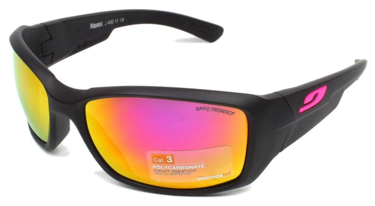 Очки Julbo Whoops Aubergine/pink logo Spectron 3 cf 2 Whoops J4001119