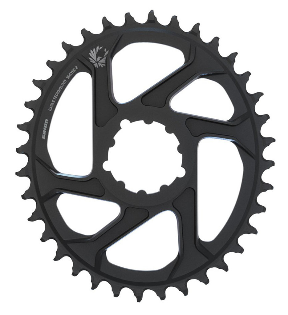 Звезда Sram X-SYNC Eagle OVAL 38T DM 6 OFF BLK 2 X-SYNC Eagle OVAL 11.6218.038.070