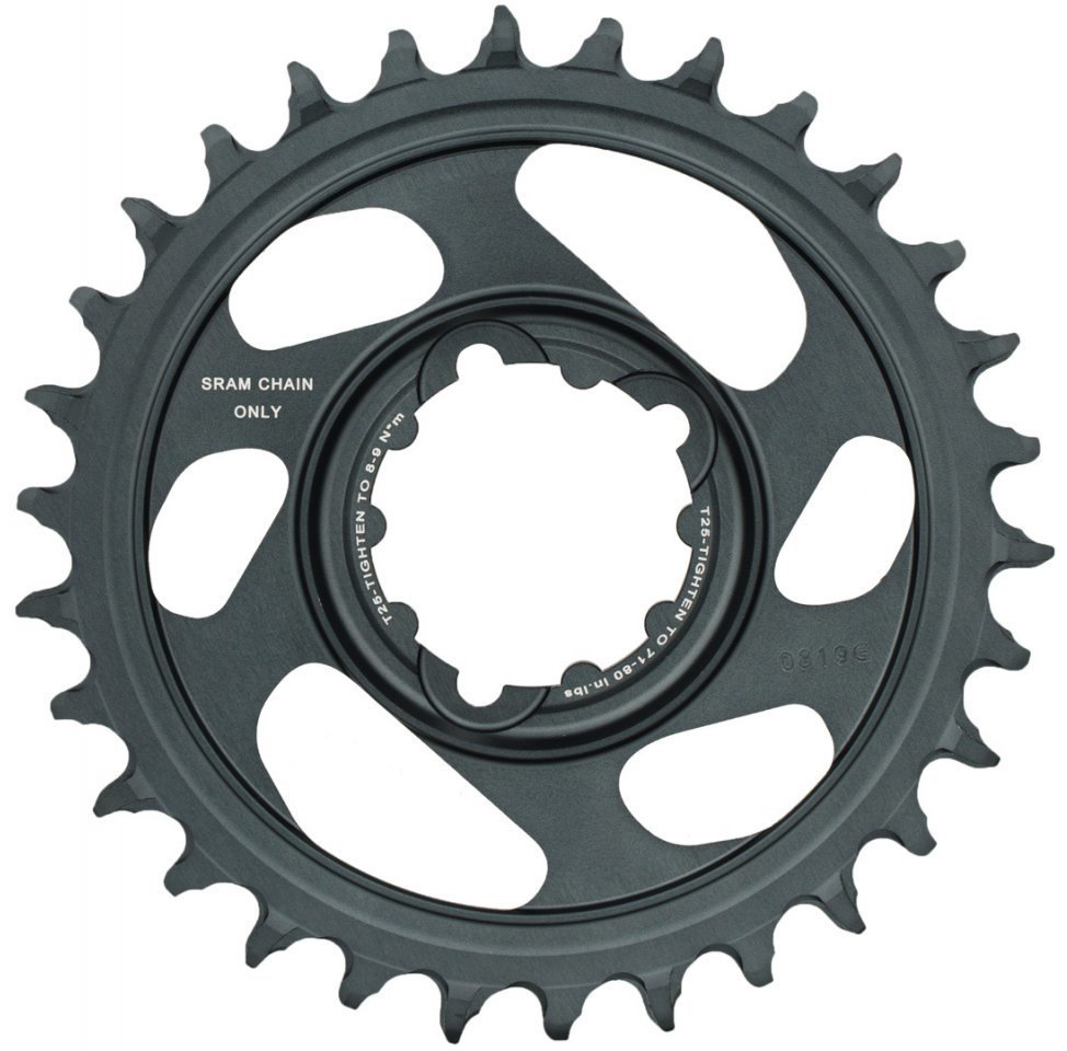 Звезда Sram X-SYNC Eagle 34T DM 6 OFFSET BLK 2 X-SYNC Eagle 11.6218.030.020