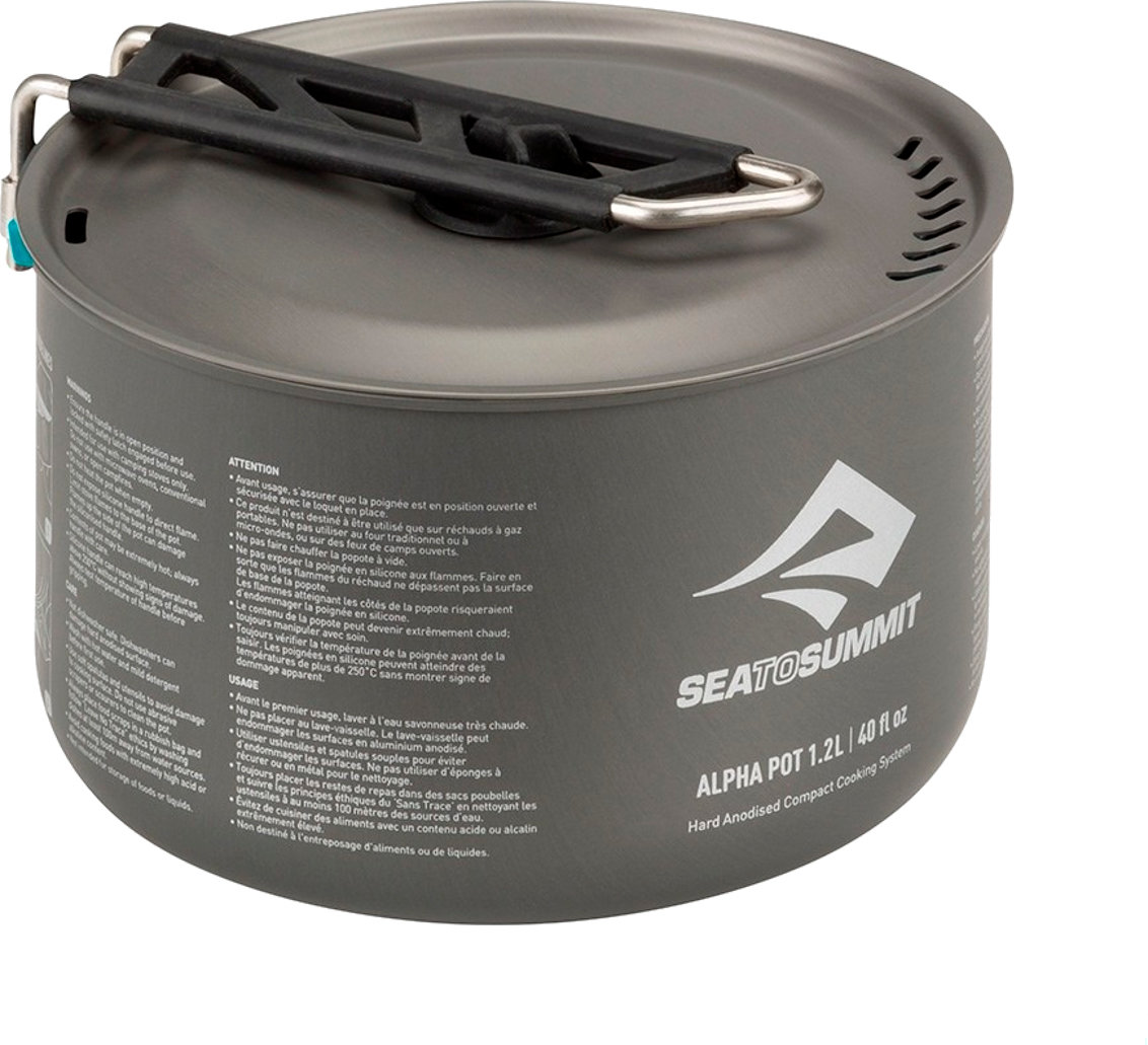 Кастрюля Sea To Summit Alpha Pot 1.2 Litre 2 STS APOTA1.2L