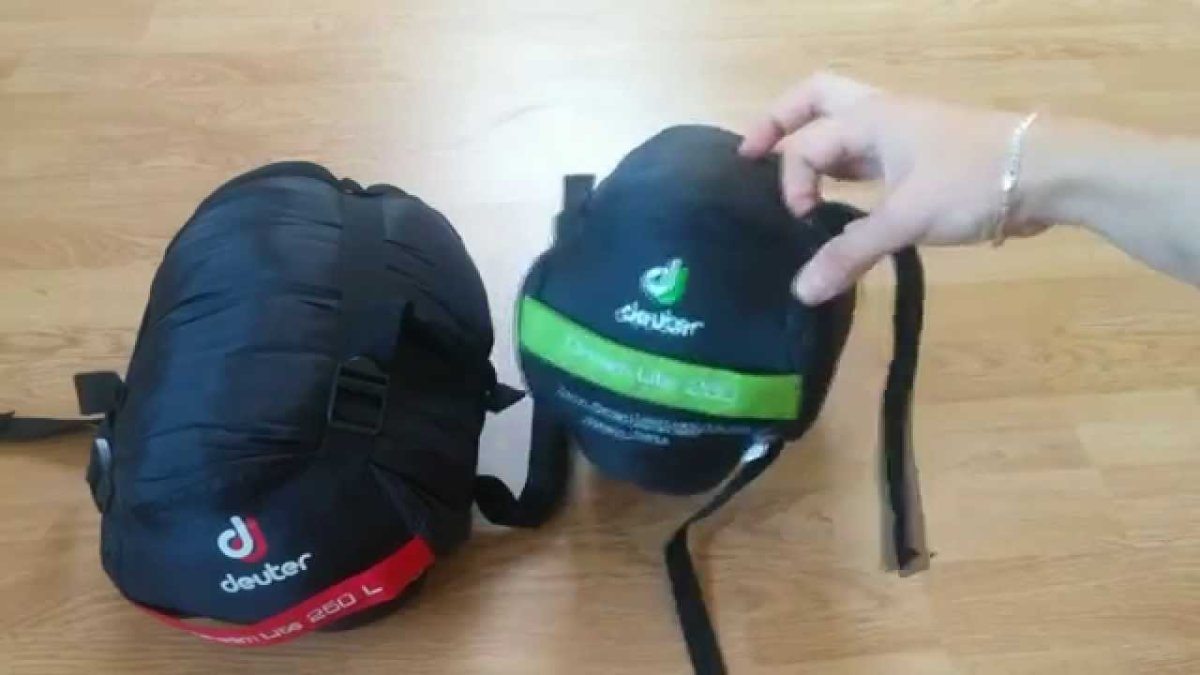 Спальник Deuter Astro Exped -22 левая молния цвет 2812 emerald-lemon 49092 2812 1 2