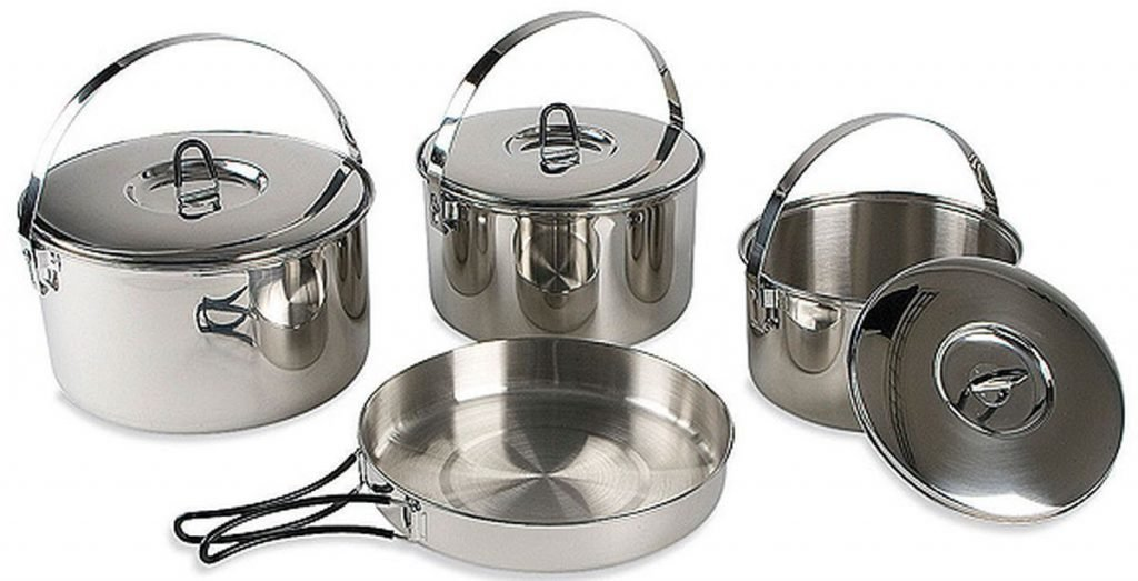 Набор посуды Tatonka Family Cook Set L 2 TAT 4024.000