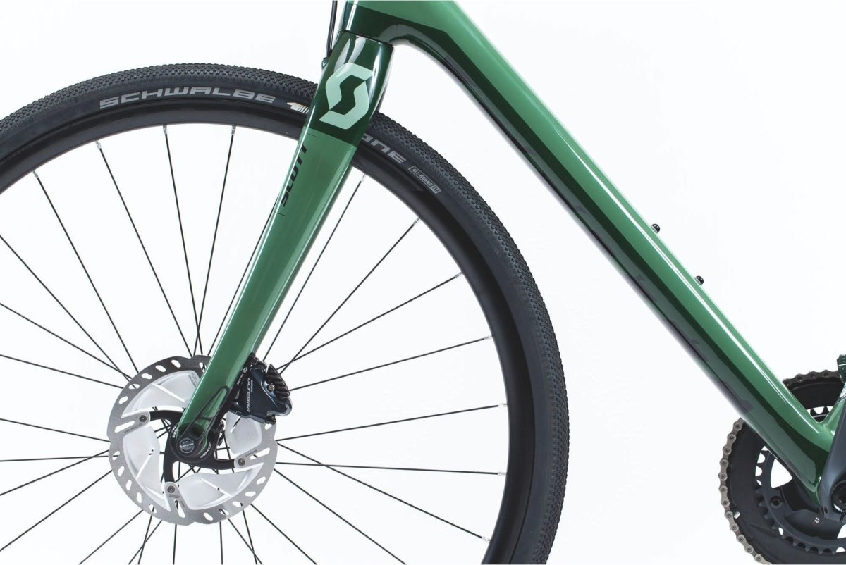 Велосипед Scott Addict Gravel 20 green/black 3 Addict Gravel 20 269903.022 269903.023