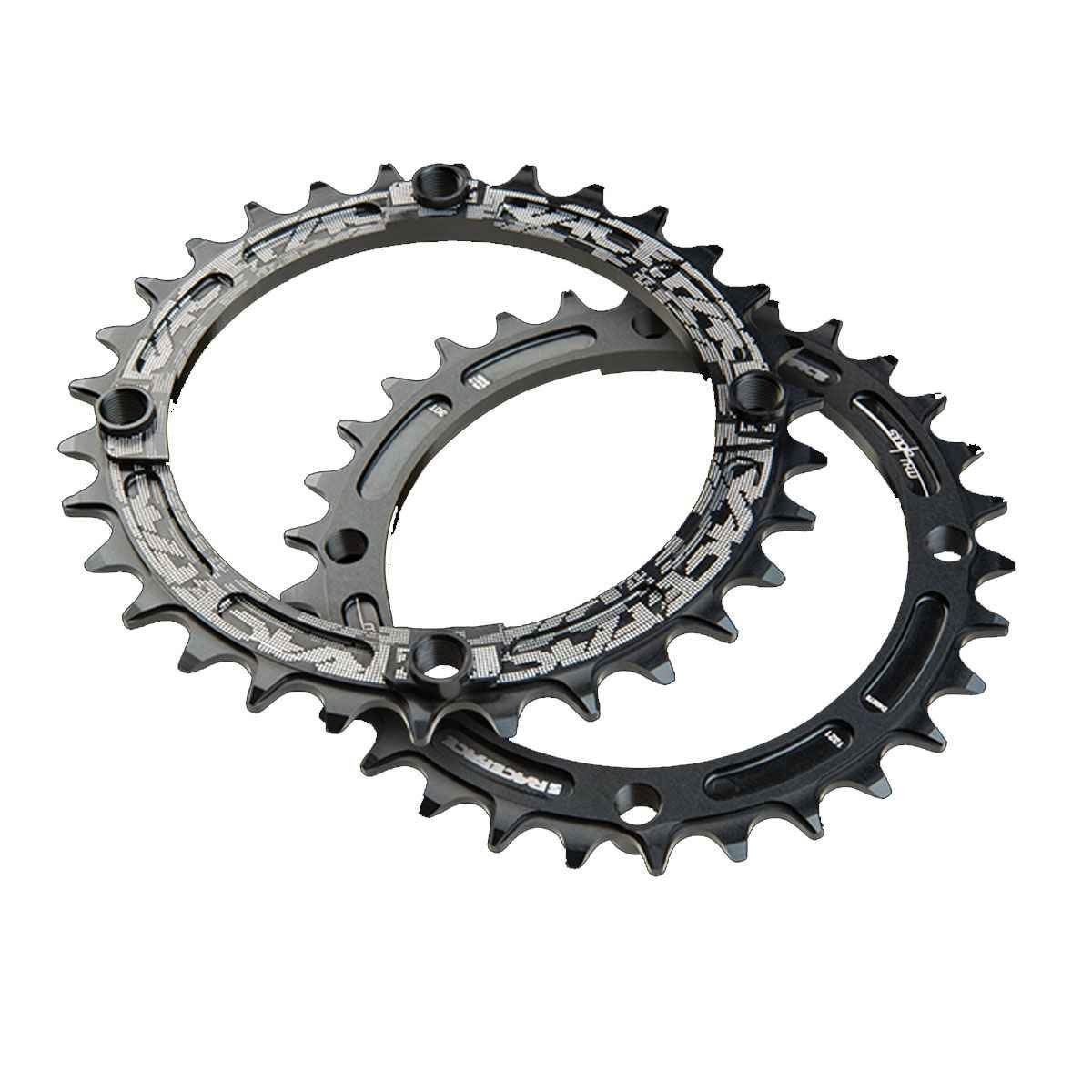Звезда RaceFace Chainring, narrow wide, 104x34, blk, 10-12s 3 Chainring