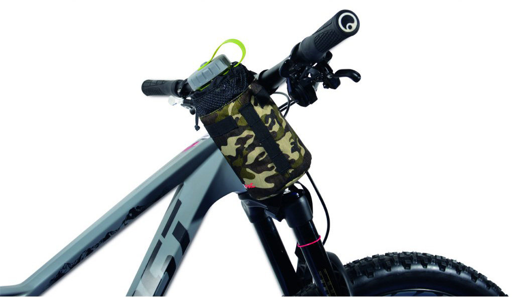 Сумка под флягу Acepac FAT BIKE BOTTLE BAG grey 3 FAT BIKE BOTTLE BAG black ACPC 1113.GRY
