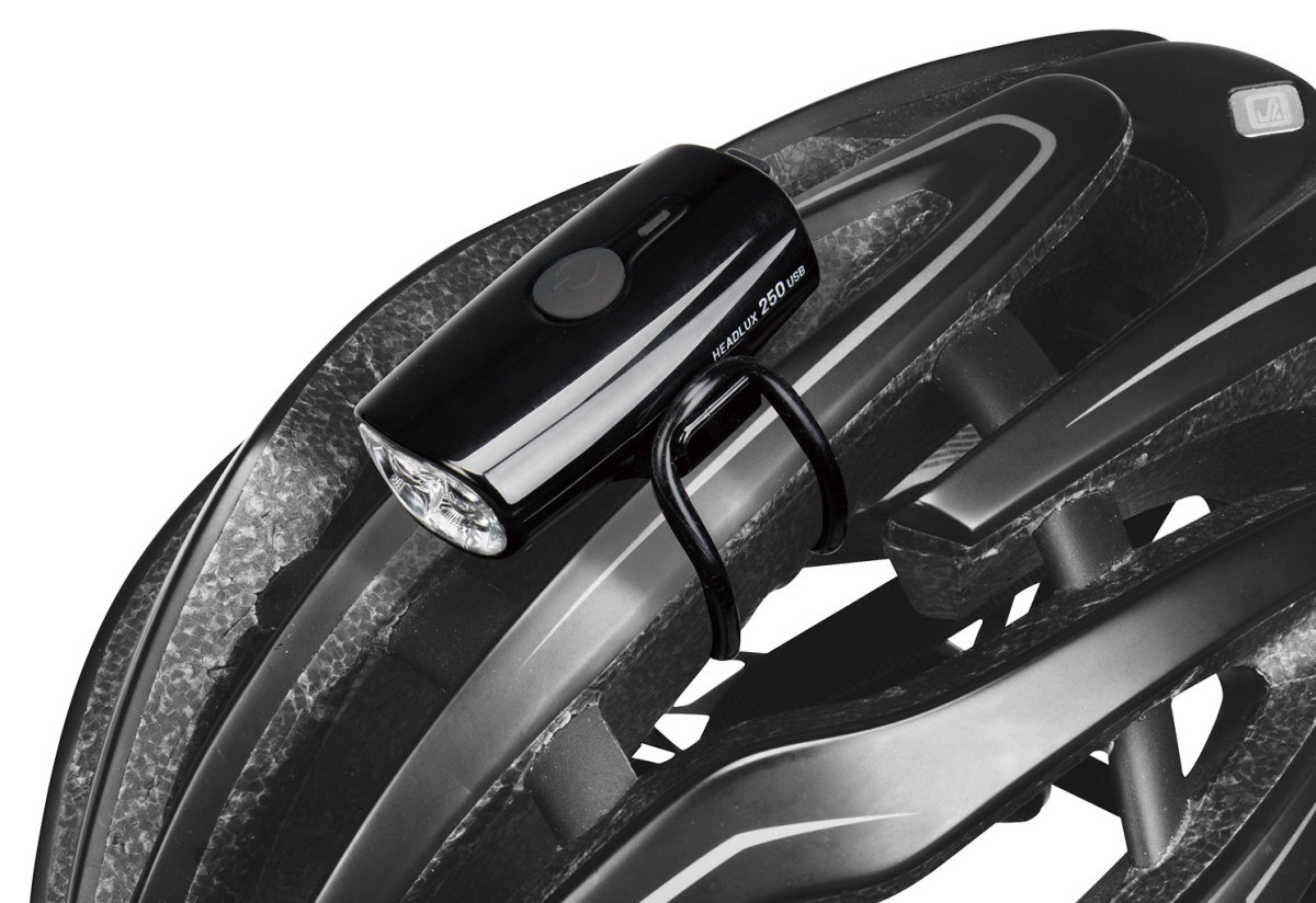 Фара Topeak HeadLux 250 USB Black 3 HeadLux 250 USB