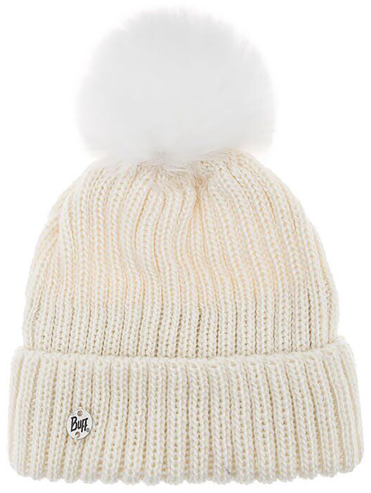 Шапка с помпоном Buff Knitted & Polar Hat katya white 3 Knitted & Polar Hat