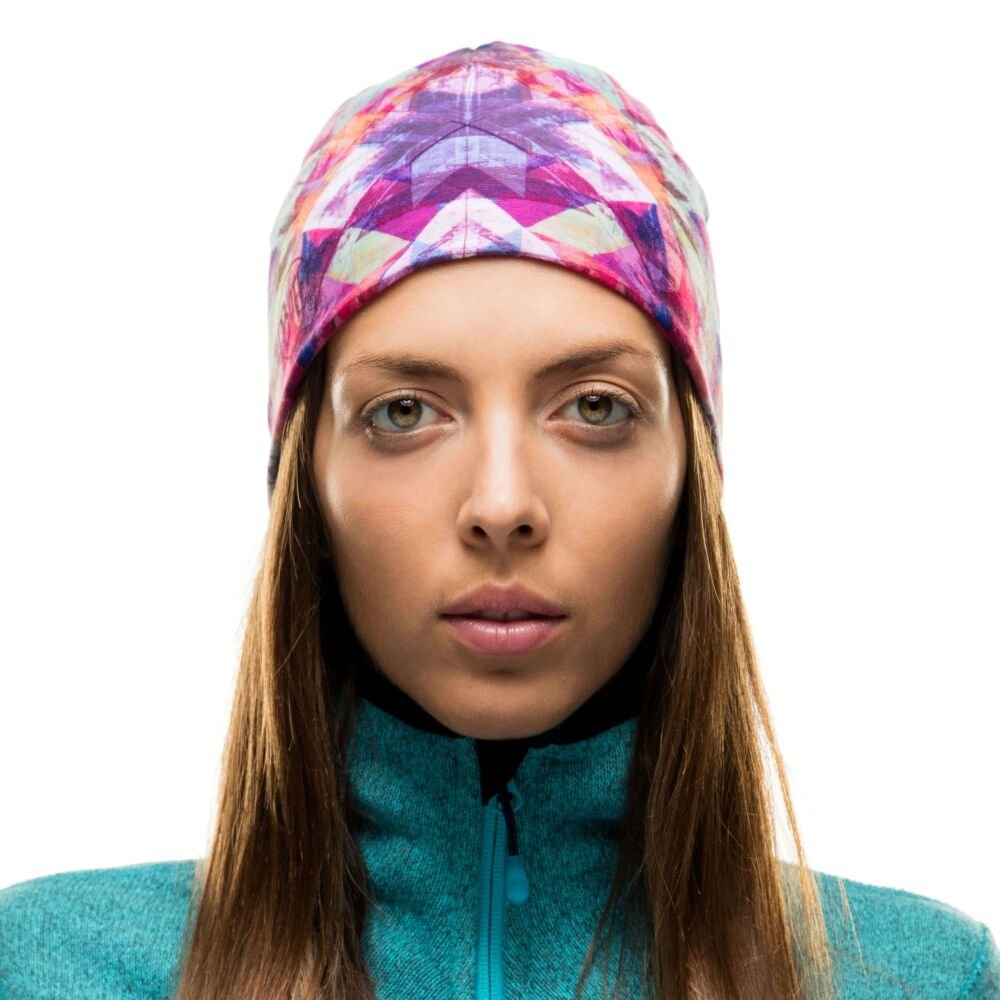 Шапка Buff Microfiber & Polar Hat star flake 3 Microfiber & Polar Hat BU 115361.555.10.00
