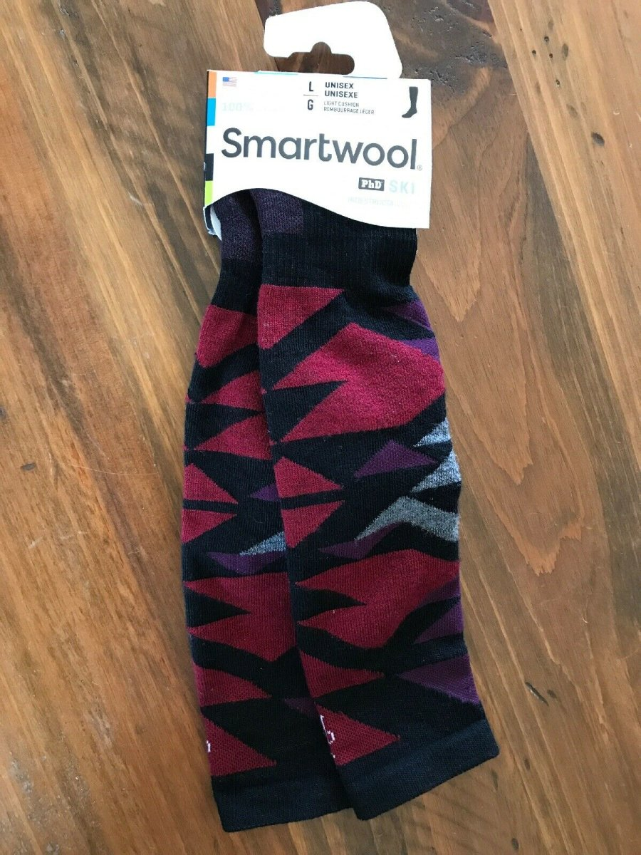 Носки Smartwool PhD Ski Light Pattern (Graphite) 3 PhD Ski Light Pattern SW 15035.018-L SW 15035.018-M