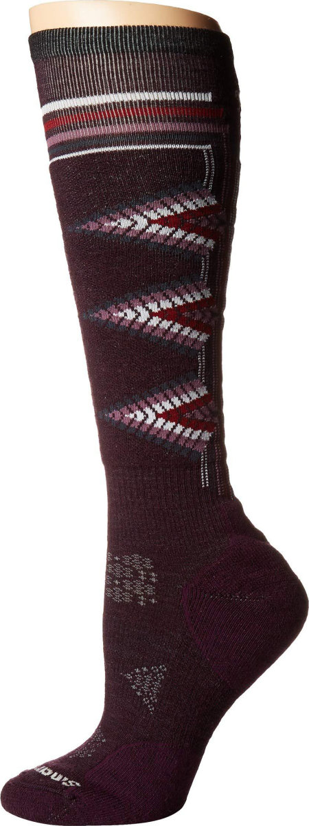 Носки женские Smartwool PhD Ski Light Pattern (Mediterranean Green) 3 PhD Ski Light Pattern SW 01331.A19-M SW 01331.A19-S