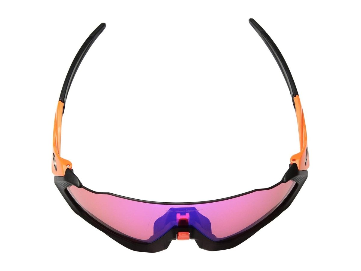 Очки Oakley Flight Jacket Neon Oran/Prizm Trail 3 RADAR EV PATCH RetinaBurn-PrizmRoad