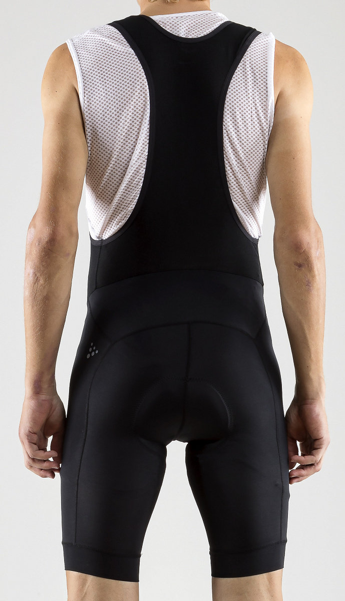 Велотрусы Craft Rise Bib Shorts black 3 Rise Bib Shorts