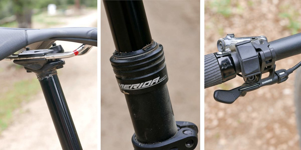 Подседельный штырь Merida Seatpost Comp TR Dropper 31.6x410mm черный 3 Seatpost Comp TR Dropper