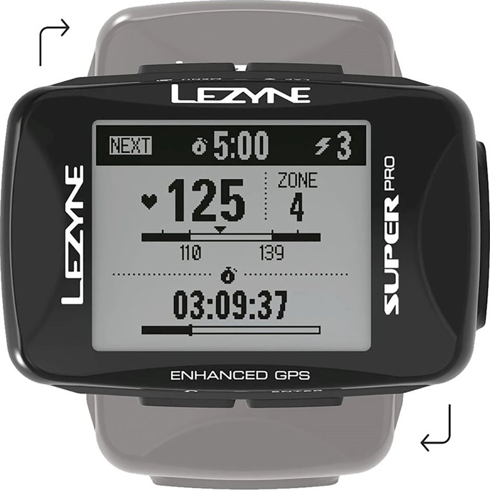 Компьютер Lezyne Super Pro GPS Smart Loaded черный 3 Super Pro GPS Smart Loaded 4712806 003715