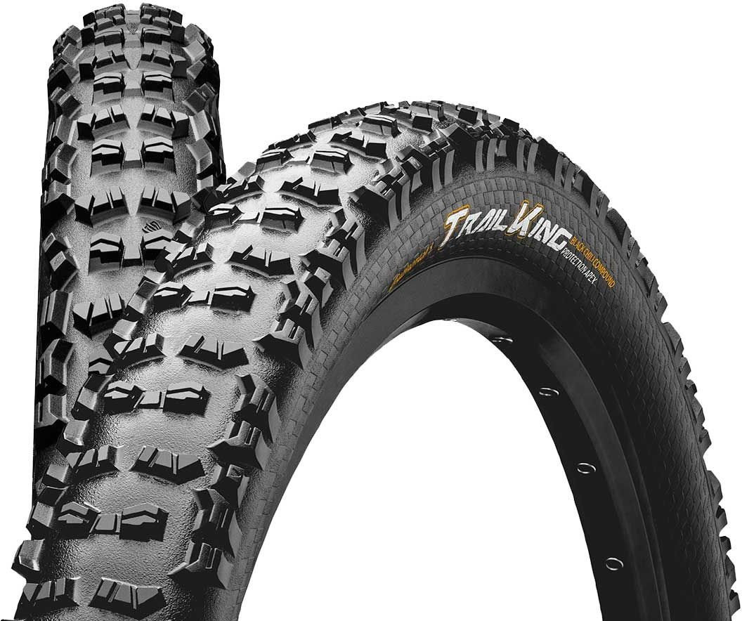 "Покрышка Continental Trail King 27.5""x2.60 Foldable, BlackChili, ProTection Apex 3 Trail King 101382"