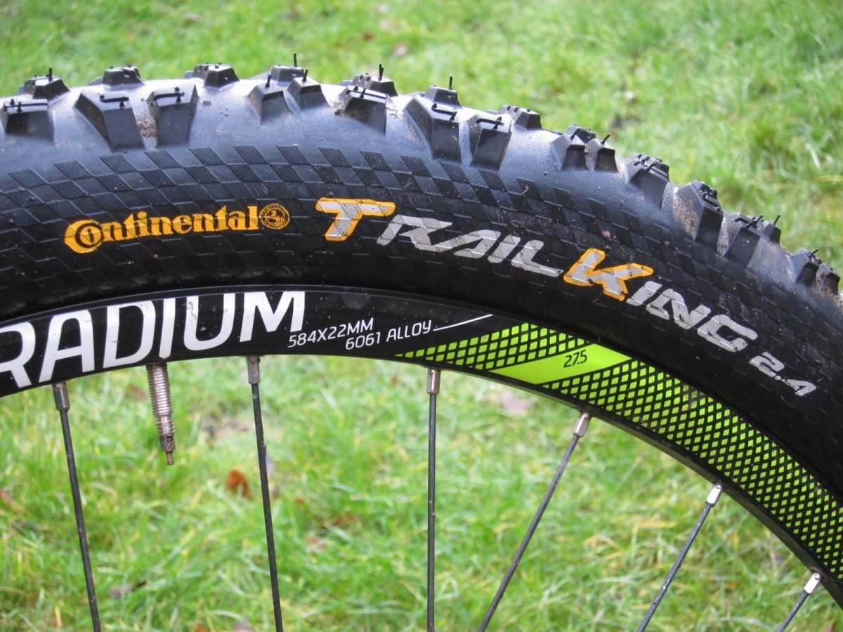 "Покрышка Continental Trail King 26""x2.40 Foldable, BlackChili, ProTection Apex 3 Trail King 101478"