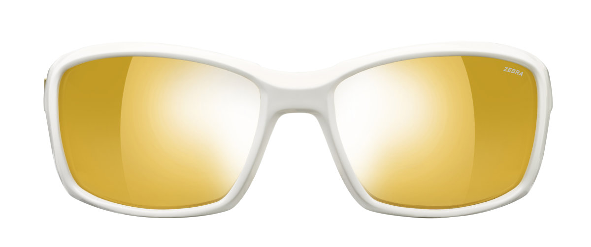 Очки Julbo Whoops Shiny white Reactiv Zebra Yellow/Brown 3 Whoops J4003110