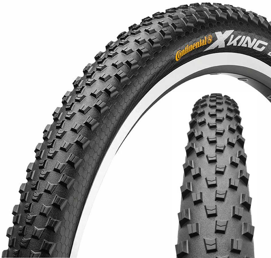 "Покрышка Continental X-King 27.5""x2,4 Foldable, PureGrip, Performance, Skin 3 X-King"