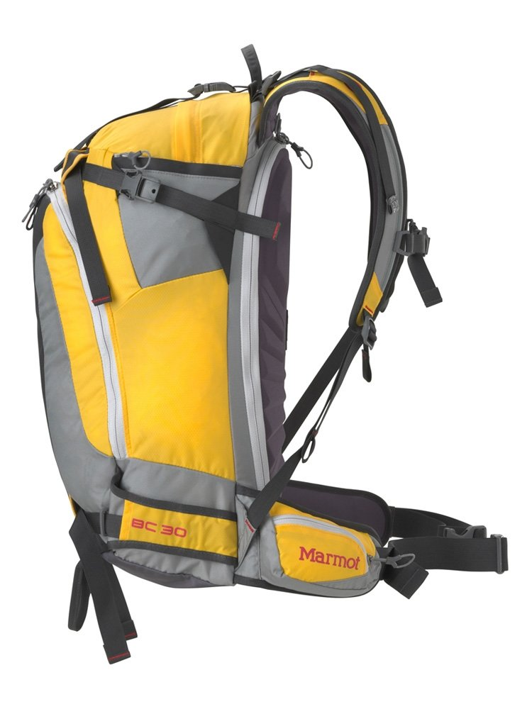 Рюкзак Marmot Backcountry 30 Spectra Yellow/Slate Grey 39 MRT 26680.9411