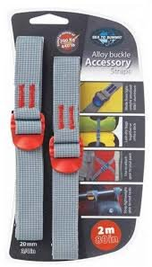 Ремень Sea to Summit Accessory Strap With Hook Buckle 10 mm для мешков 2 m 3 STS ATDASH102.0