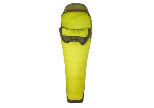 Спальник Marmot Trestles Elite 30 Citronelle/Fir Green, Left 3