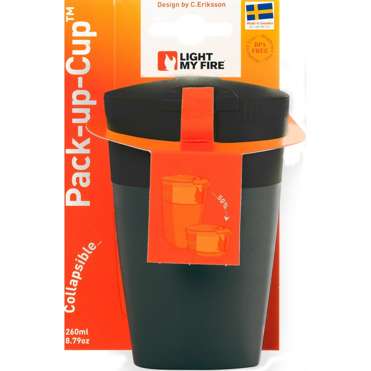 Фляга Light My Fire Pack-up-Cup Black 3 LMF 42392010
