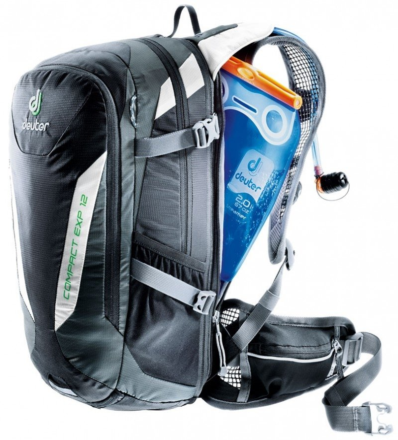 Рюкзак Deuter Compact EXP 10 SL turquoise-midnight (3312) 3 3200115 3312