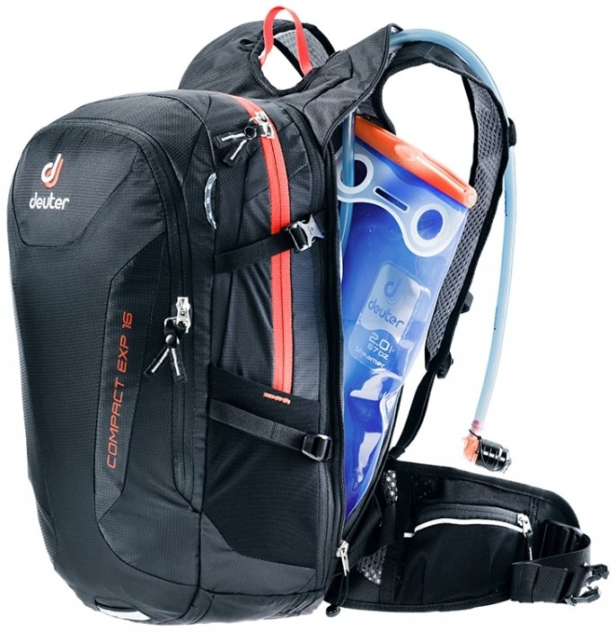Рюкзак Deuter Compact EXP 12 black (7000) 3 3200215 7000