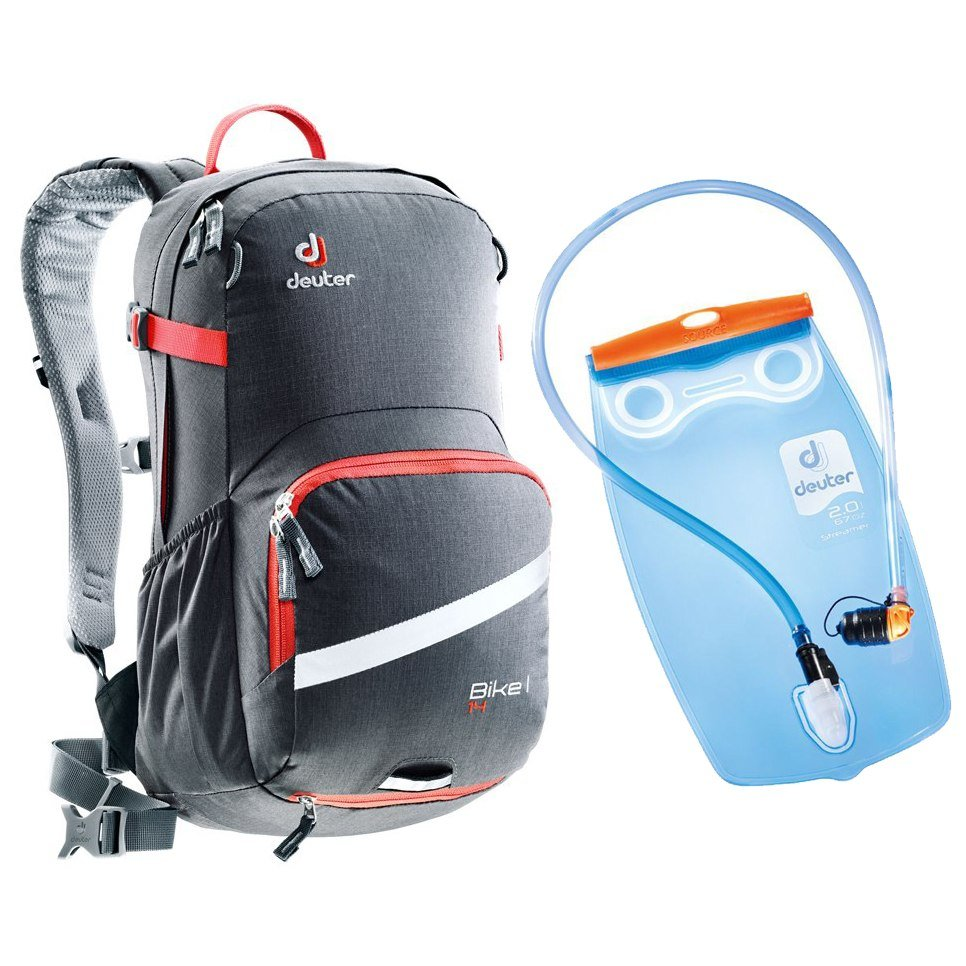 Рюкзак Deuter Bike I 14 graphite-papaya (4906) 3 3203117 4906