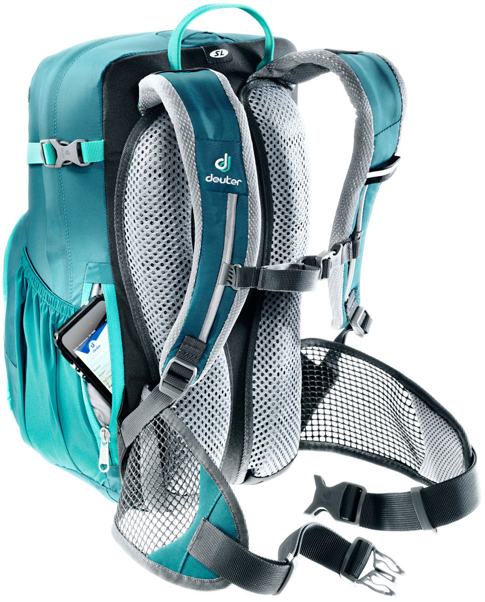 Рюкзак Deuter Bike I 18 SL petrol-mint (3217) 3 3203217 3217