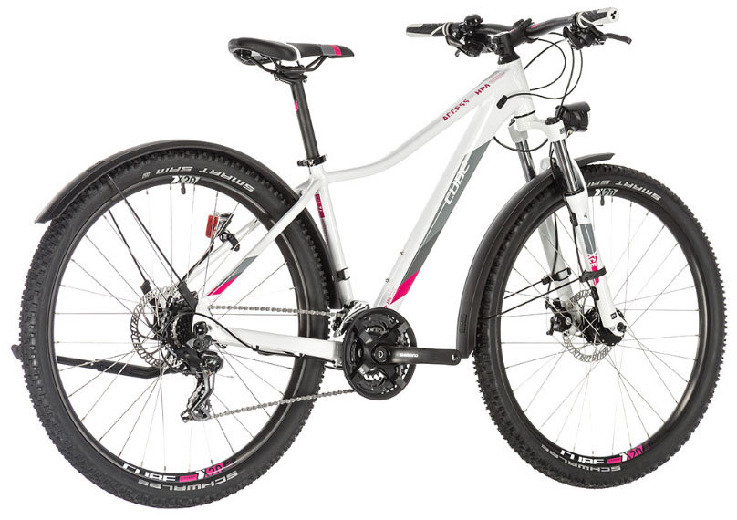 Велосипед Cube ACCESS WS ALLROAD 27.5 white-berry 4 ACCESS WS ALLROAD 27.5 white-berry