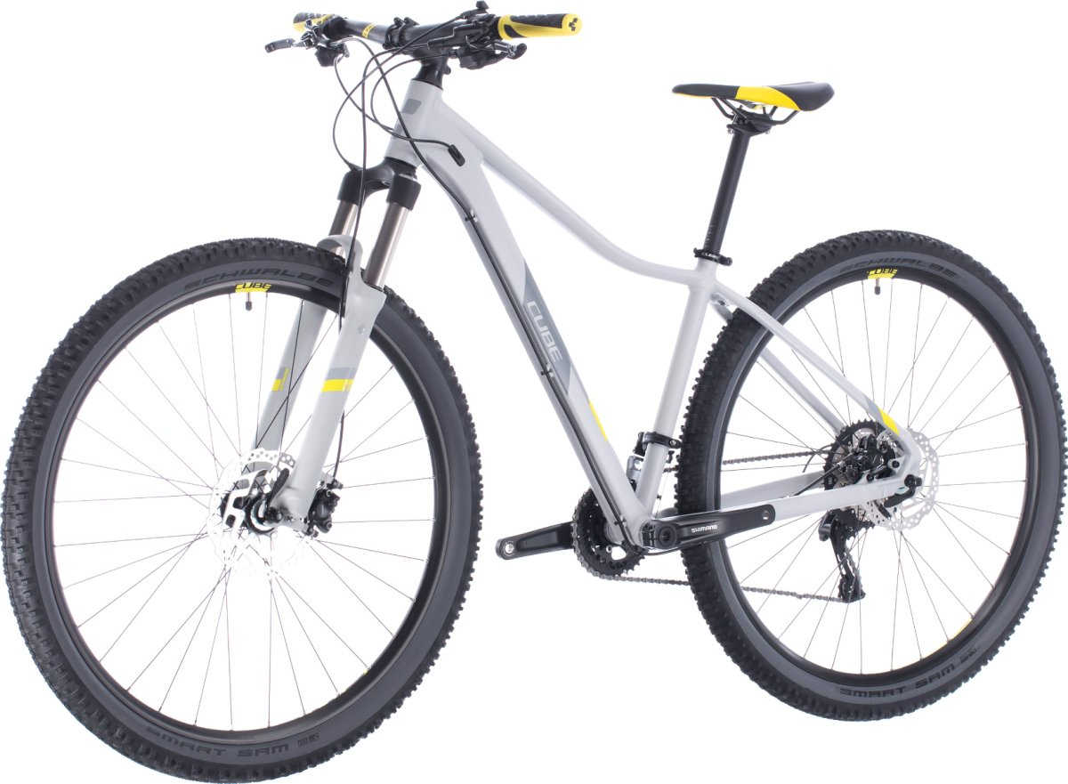 Велосипед Cube Access WS Race grey'n'lime 4 Access WS Race