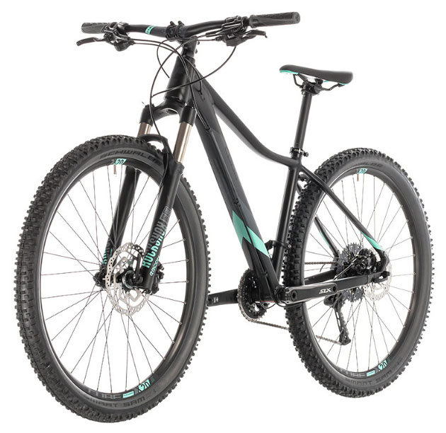 Велосипед Cube ACCESS WS SL 27.5 black-mint 4 ACCESS WS SL 27.5 black-mint 225600-16