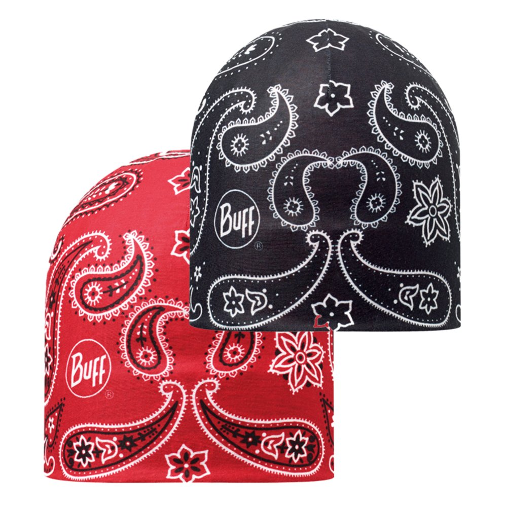 Шапка Buff Microfiber Reversible Hat cashmere red-black 4 Microfiber Reversible Hat BU 108910.425.10.00